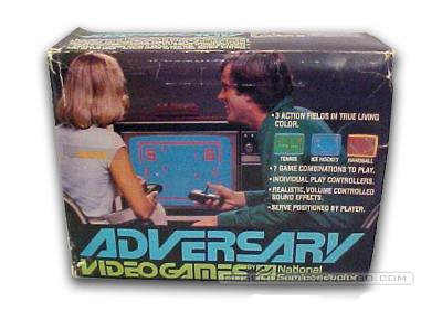 Adversary Pong Caja