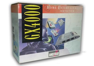 Amstrad GX4000 Home Entertainment System Caja