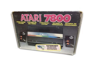 Atari 7800 Caja