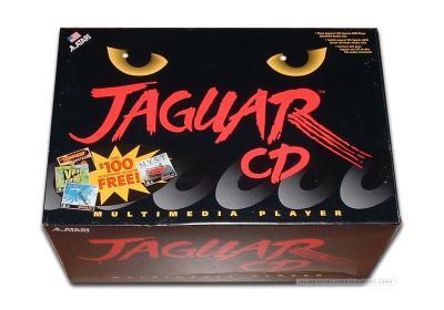 Atari Jaguar CD Caja