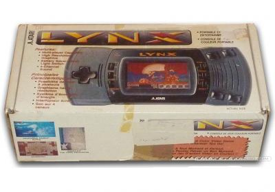 Atari Lynx II  Caja