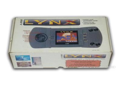 Atari Lynx I Caja
