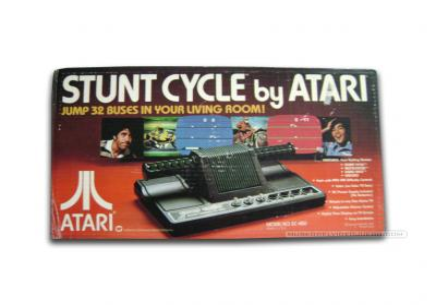 Atari Stunt Cycle Caja