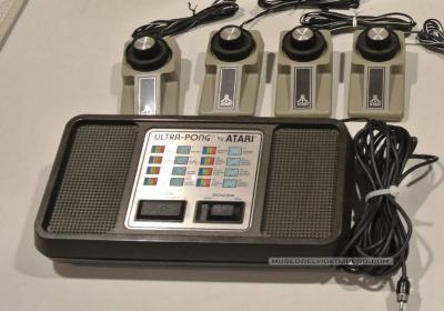 Atari Ultra Pong Doubles C-402D