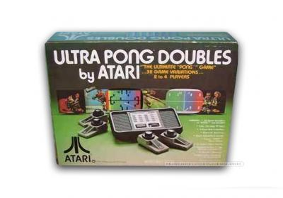 Atari Ultra Pong Doubles C-402D Caja
