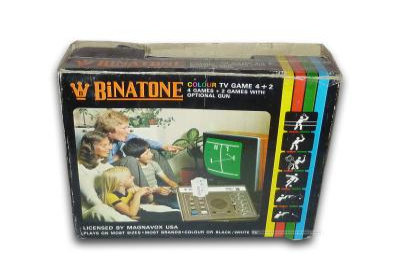 Binatone Colour TV-Game 4 plus 2 Caja