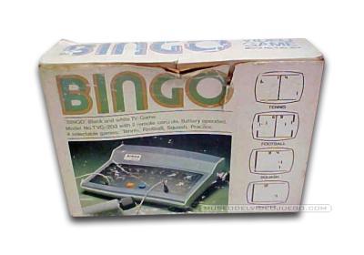 Bingo TVG-203 Caja