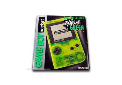 Game Boy Pocket Extreme Green Caja
